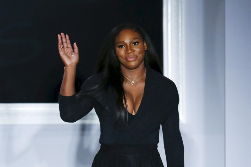 Serena Williams,Serena Williams as fashion designer,tennis player Serena Williams,New York Fashion Week,New York Fashion Week 2015,NYFW,NYFW 2015