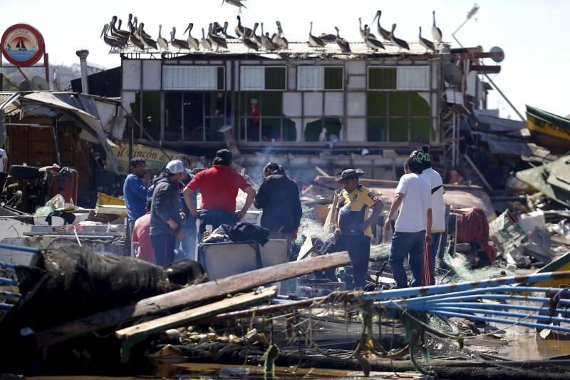 Chile Rocked by Earthquake,Earthquake,Chile Earthquake,Earthquake in Chile,8.3 earthquake,8.3 magnitude earthquake