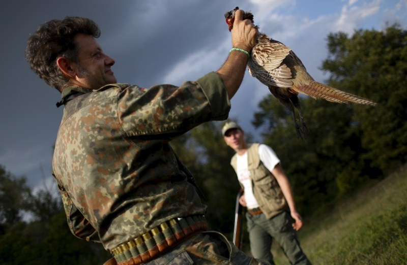First day of the Italy hunting season,Italy hunting season,Hunting season in Italy,Hunting in Italy