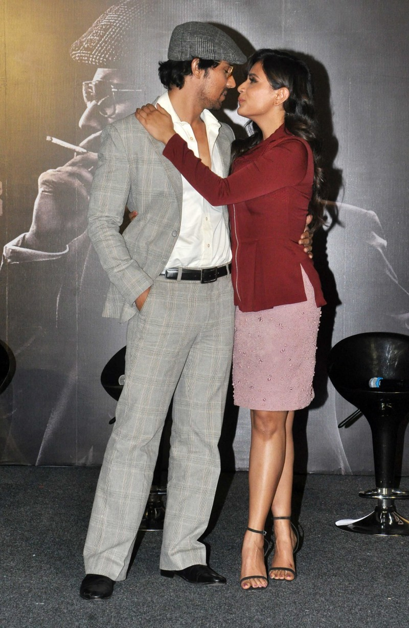 Main Aur Charles,Main Aur Charles Trailer launch,Main Aur Charles Trailer,bollywood movie Main Aur Charles,Richa Chadda,Randeep Hooda,Adil Hussain,Prawaal Raman,Amit Kapoor,Main Aur Charles Trailer launch pics,Main Aur Charles Trailer launch images,Main A