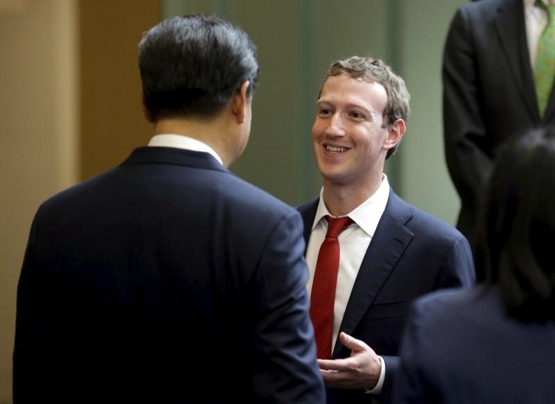 China's President Xi Jinping,President Xi Jinping,President Xi Jinping in US,Dennis Muilenburg,Facebook Chief Executive Mark Zuckerberg,Mark Zuckerberg