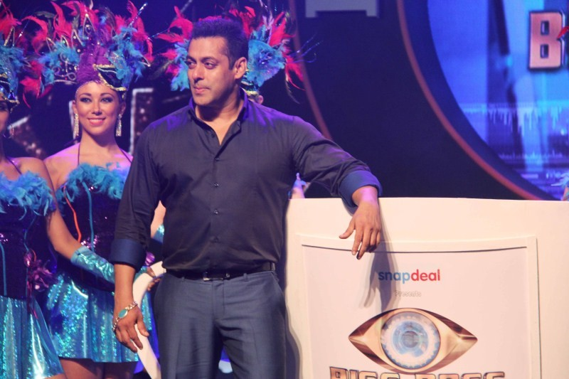 Salman Khan,Bigg Boss Double Trouble Press Conference,Bigg Boss,Bigg Boss 9,Bigg Boss season 9,actor Salman Khan,Bigg Boss Double Trouble