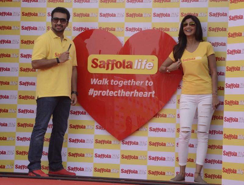 Shilpa Shetty,Raj Kundra,World Heart Day,Shilpa Shetty and Raj Kundra,Shilpa Shetty and Raj Kundra celebrate World Heart Day