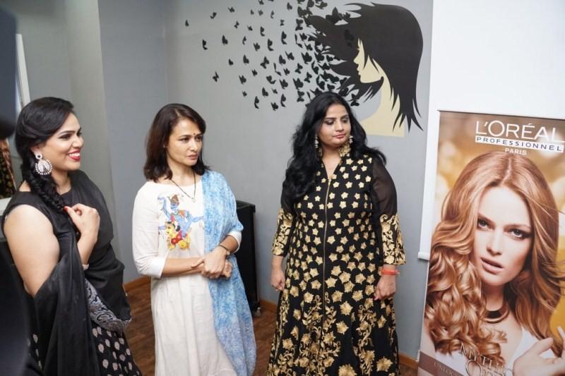 Amala Launches I Adore Luxury Spa,Akhil mother Amala Launches I Adore Luxury Spa,Akhil mother Amala,Amala Akkineni
