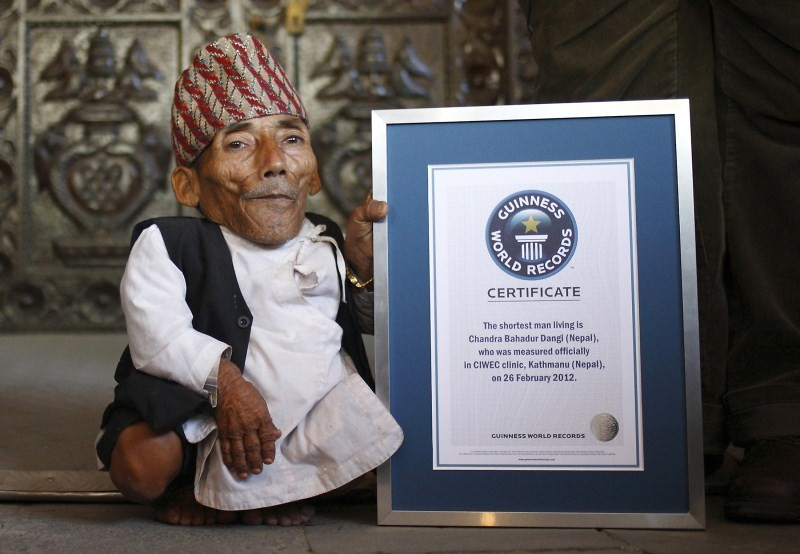 World's shortest man,Chandra Bahadur Dangi,Chandra Bahadur Dangi dies at age 75,Guinness World Records,Guinness World Record