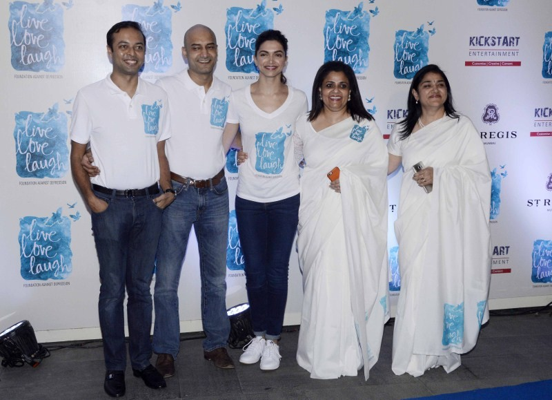 Deepika Padukone,Deepika Padukone launches Live Love Laugh foundation,Live Love Laugh,NGO 'Live Love Laugh',actress Deepika Padukone,Deepika Padukone latest pics,Deepika Padukone latest images,Deepika Padukone latest photos,Deepika Padukone late