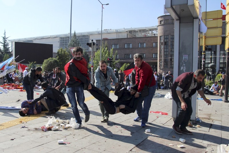 Turkish blast,Deadly Blasts hit Turkish,Ankara explosions,Ankara blast,Turkish Capital Ankara,Deadly blasts in Turkey,pro-Kurdish and leftist activists,suicide bombers