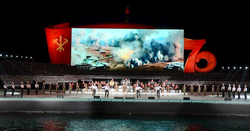 North Korea celebrates 70 years of ruling Workers Party,70 years of ruling Workers Party,Workers Party,North Korea celebrates Workers Party,North Korea