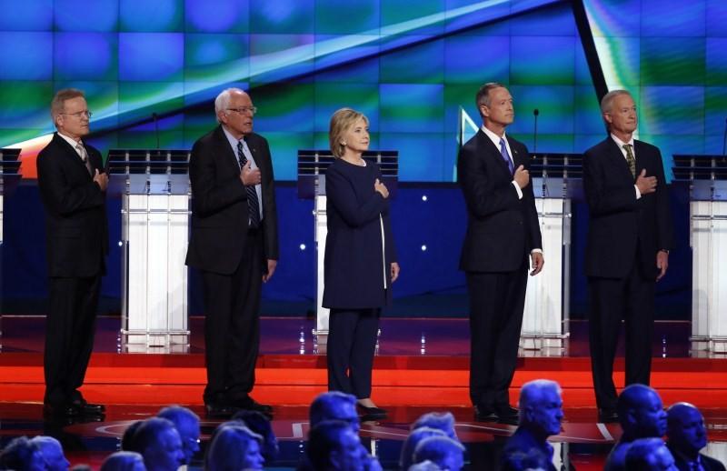 Democratic Presidential Debate,Jim Webb,Bernie Sanders,Hillary Clinton,Martin O'Malley,Democratic Presidential