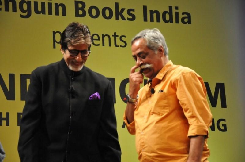 Sachin Tendulkar,Amitabh Bachchan,Pandeymonium,Pandeymonium book launch,Piyush Pandey,Sachin Tendulkar,Amitabh Bachchan,Sachin Tendulkar and Amitabh Bachchan