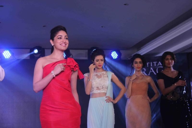 Yami Gautam,Yami Gautam launches Moonlight,Moonlight collection by Titan Raga,Titan Raga,Moonlight collection,Yami Gautam launches Moonlight collection