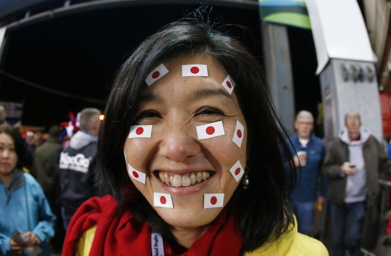 Rugby World Cup,Rugby World Cup 2015,IRB Rugby World Cup 2015,IRB Rugby World Cup,Fans posses,face paint