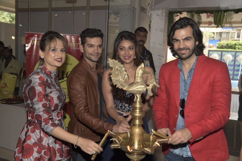 Wedding Pullav,Wedding Pullav Star cast,India's Largest Bridal Lifestyle Exhibition 'Glitter 2015',Bridal Lifestyle Exhibition 'Glitter 2015',Bridal Lifestyle Exhibition,Glitter 2015,Anushka Ranjan,Diganth Manchale,Karan Grover