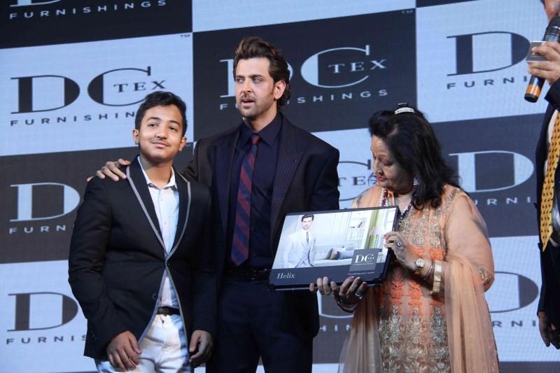 Hrithik Roshan,actor Hrithik Roshan,Rohit Roy,Dctex new furnish,Hrithik Roshan launches Dctex new furnish,Dream Runner
