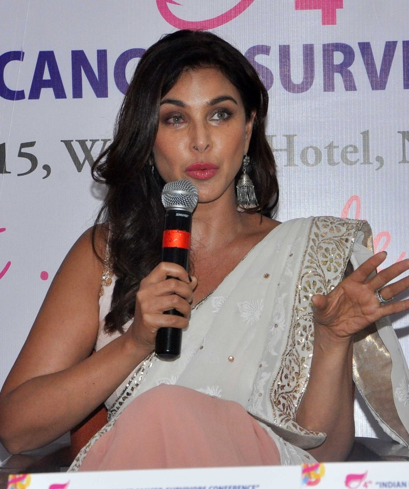 Malaika Arora Khan,Lisa Ray,Indian Breast Cancer Survivors Conference,Breast Cancer,Women's Cancer,Tata Memorial Hospital,Malaika Arora Khan and Lisa Ray