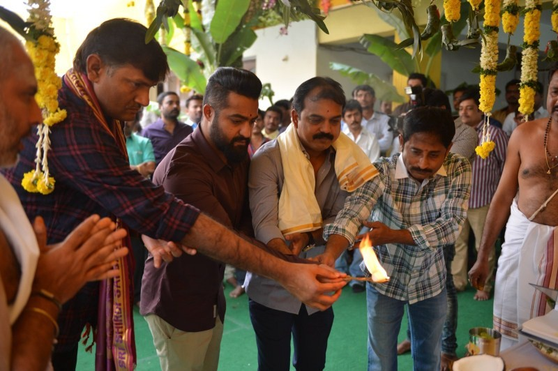 Jr NTR,Jr NTR 26th movie launch,Siva,Mythri Movies Launched NTR 26,NTR 26,Jr NTR 26th Movie,Nandamuri Kalyan Ram,BVSN Prasad,Shyam Prasad Reddy,VV Vinayak,Jr NTR 26th movie launch pics,Jr NTR 26th movie launch images,Jr NTR 26th movie launch photos,Jr NT