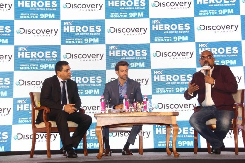 Hrithik Roshan,actor Hrithik Roshan,HRX Heroes,Hrithik Roshan to host HRX Heroes,Hrithik Roshan host HRX Heroes,Discovery channel,HRX Heroes with Hrithik Roshan
