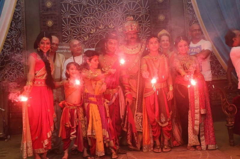 Chakravartin Ashoka Samrat,Chakravartin Ashoka Samrat celebrates 200 episode,Chakravartin Ashoka Samrat 200 episode,Chakravartin Ashoka Samrat celebration
