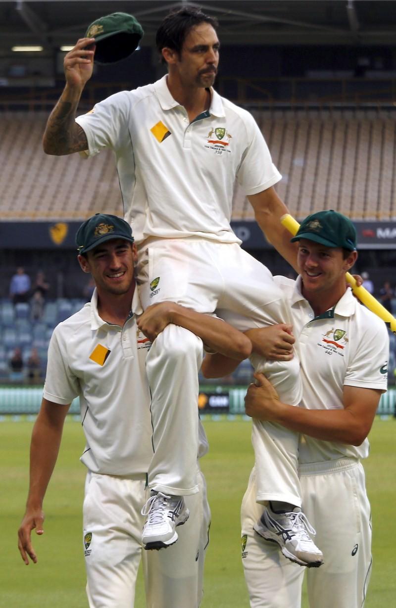 Mitchell Johnson,Australia fast bowler Mitchell Johnson,fast bowler Mitchell Johnson,Mitchell Johnson retires,cricket,Australia Vs New Zealand,Mitchell Johnson bids farewell,Mitchell Johnson farewell