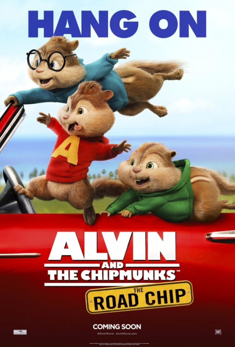 Alvin and the Chipmunks The Road Chip,Alvin and the Chipmunks The Road Chip movie poster,Alvin and the Chipmunks The Road Chip poster,Alvin and the Chipmunks,Randi Mayem,Walt Becker