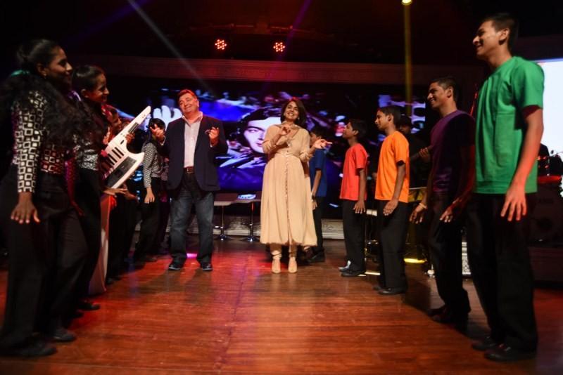 Ranbir Kapoor,Rishi Kapoor,Neetu Singh,Randhir Kapoor,CCDT NGO's 25th year celebration,Committed Communities Development Trust