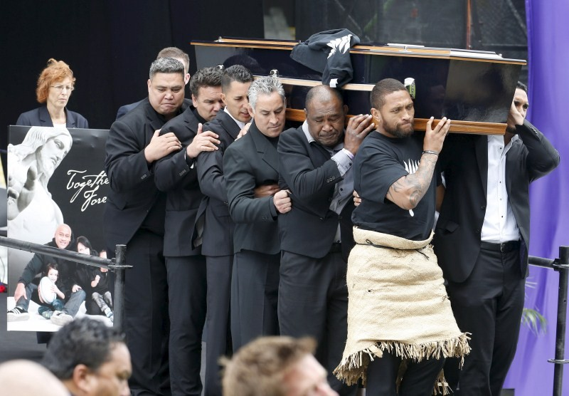 NZ bids farewell to Jonah Lomu,Jonah Lomu,Auckland,New Zealand