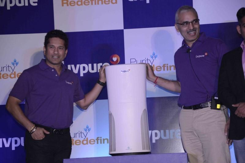 Sachin Tendulkar,Sachin Tendulkar launches Livpure water purifier,Livpure water purifier,water purifier,Sachin,portable air purifier