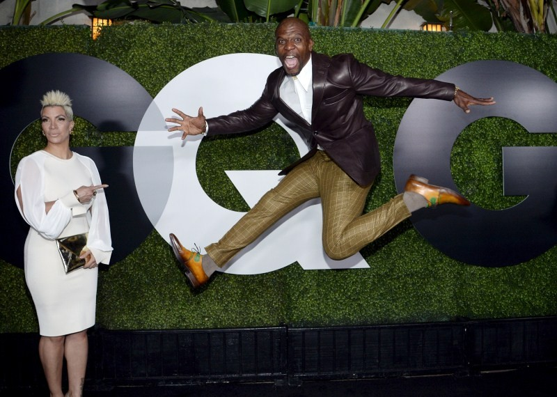 GQ Men,GQ Men of the Year party,GQ Men of the Year party 2015,Rebecca King-Crews,Terry Crews,Bradley Cooper,Anna Camp