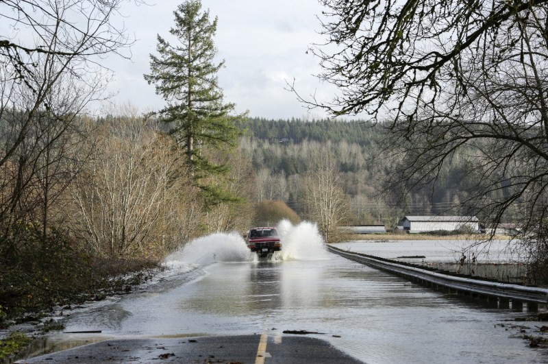Flooding in Pacific Northwest,Heavy Rains in Pacific Northwest,Heavy Rains Causes Flooding,Pacific Northwest