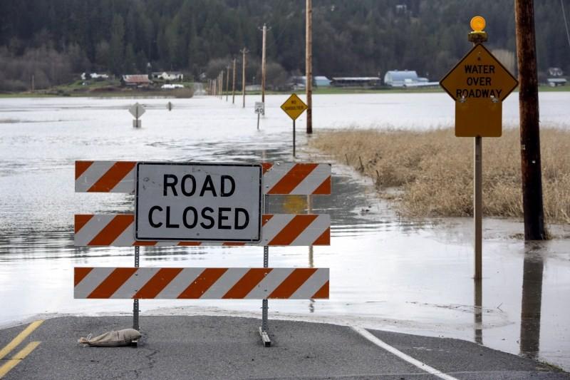 Flooding in Pacific Northwest,Heavy Rains in Pacific Northwest,Heavy Rains Causes Flooding,Pacific Northwest