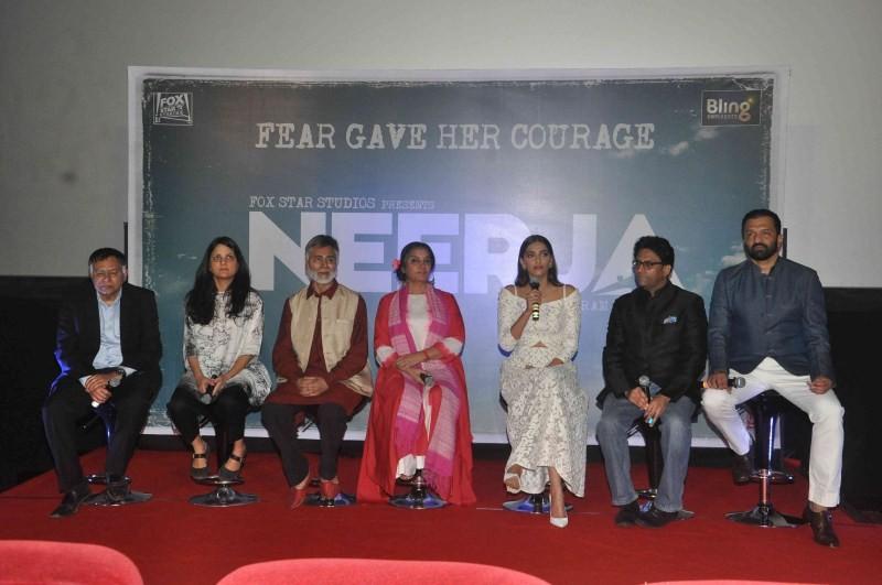 Neerja,Neerja trailer,Neerja trailer launch,Sonam Kapoor,Sonam Kapoor at Neerja trailer launch,Sonam Kapoor at Neerja trailer,Neerja trailer launch pics,Neerja trailer launch images,Neerja trailer launch photos,Neerja trailer launch stills,Neerja trailer
