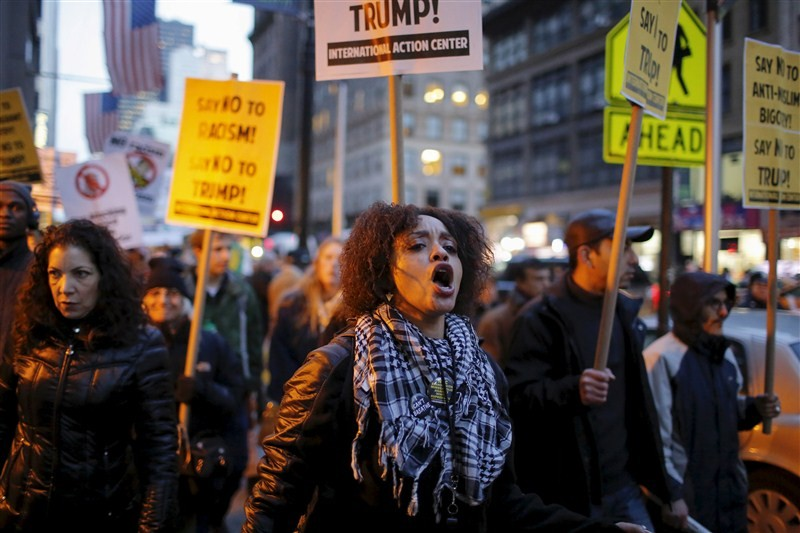 Donald Trump,Protests against Donald Trump,US Republican,People protest