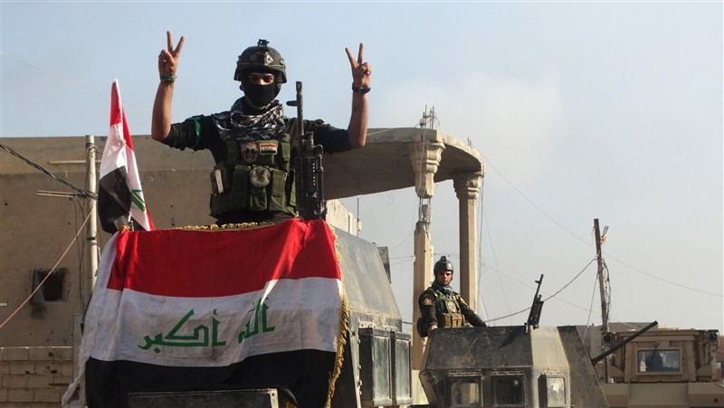 Ramadi liberated from Islamic State,Ramadi,Islamic State,Iraq,Iraq flies flag,iraq victory,ISIS,ISIS loses