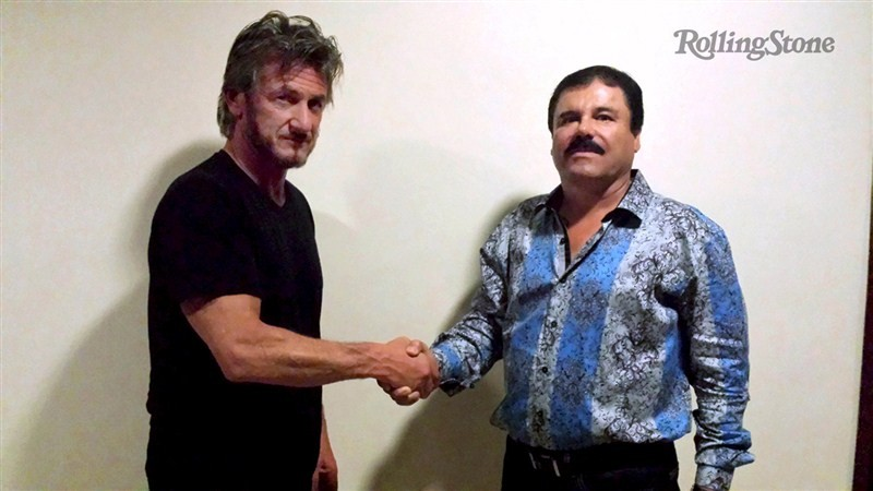 Sean Penn,Sean Penn meets Mexican drug lord,Joaquin 'Chapo' Guzman,Hollywood star Sean Penn,Mexican government,Mexican drug lord,Joaquin 'El Chapo',Joaquin El Chapo