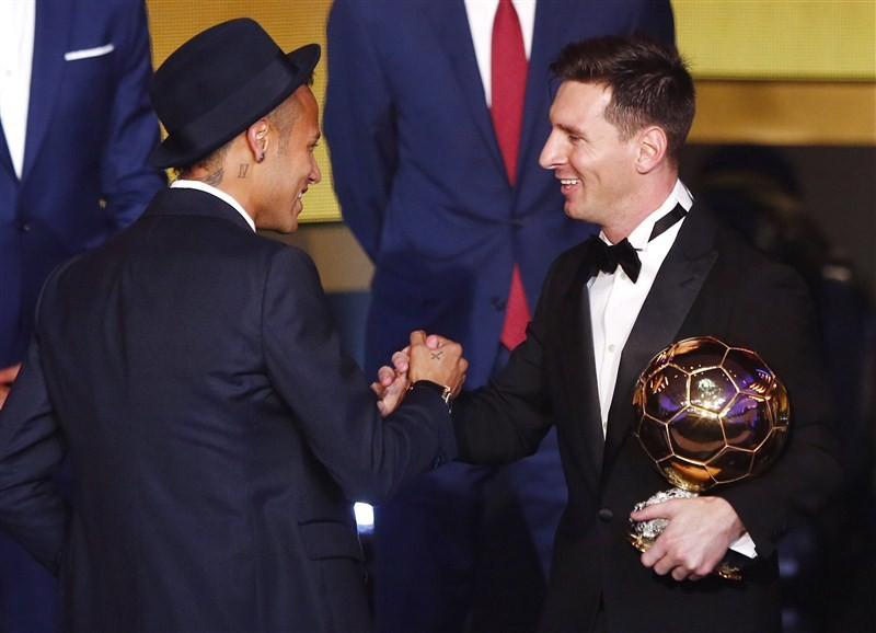 Lionel Messi,fifth FIFA Ballon d'Or award,Ballon d'Or award,footballer of the year,gala ceremony,Cristiano Ronaldo