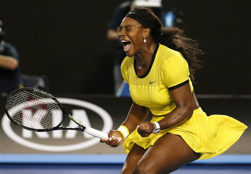 Photos of Australian Open final: Serena Williams v Angelique Kerber