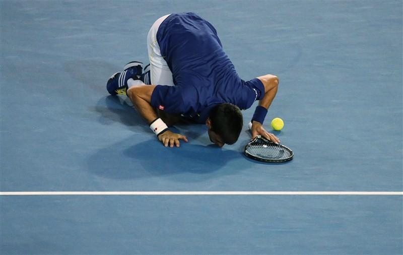 Andy Murray beaten by Novak Djokovic,Novak Djokovic,Novak Djokovic beats Andy Murray,Australian Open final,Australian Open final 2016,Novak Djokovic wins Australian Open final,Novak Djokovic champion,Andy Murray