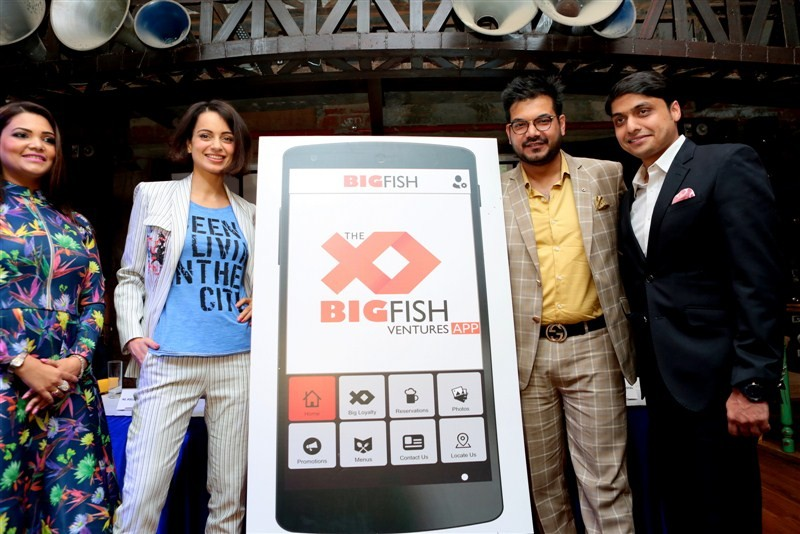Kangana Ranaut,Big Fish Ventures table reservation app,Big Fish Ventures,table reservation app,Kangana,actress Kangana Ranaut,bollywood actres Kangana Ranaut,Kangana Ranaut new pics,Kangana Ranaut new images,Kangana Ranaut new photos,Kangana Ranaut new st