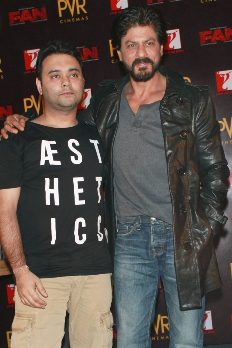 Shah Rukh Khan,Shahrukh Khan,Fan,Fan Anthem,Fan Anthem launch,Fan Anthem Press Conference,Shah Rukh Khan at Press Conference,SRK,actor Shah Rukh Khan,Shah Rukh Khan new pics,Shah Rukh Khan new images,Shah Rukh Khan new stills
