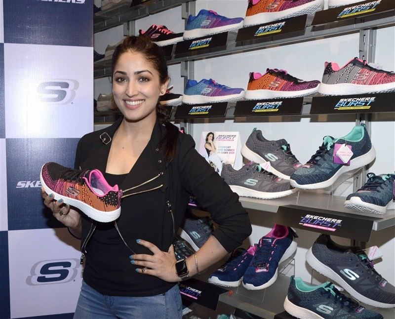 Yami Gautam,Skechers Burst shoes,Yami Gautam launches Skechers Burst shoes,Skechers shoes,Burst shoes,Bollywood actress Yami Gautam,actress Yami Gautam,Yami Gautam new pics,Yami Gautam new images,Yami Gautam new stills,Yami Gautam new photos