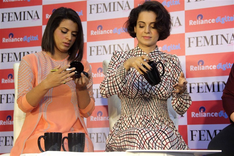 Kangana Ranaut,Kangana Ranaut Sister Rangoli,Rangoli,Kangana Ranaut Launch Femina March Issue,Femina March Issue,Femina 2016 March Issue,Femina 2016,actress Kangana Ranaut,Kangana Ranaut new pics,Kangana Ranaut pics,Kangana Ranaut images,Kangana Ranaut st