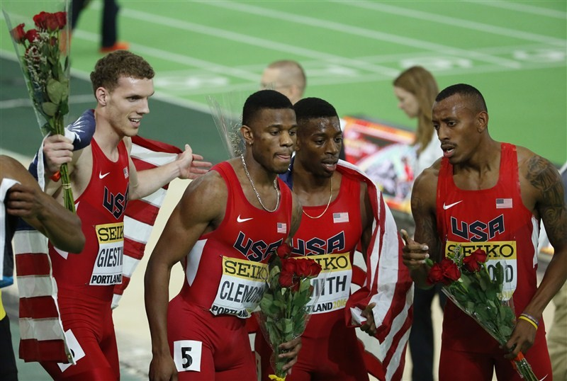 Highlights from the IAAF World Indoor Athletics Championships in Portland.