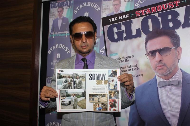 Gulshan Grover,Stardust magazine,Stardust,bad man,Bollywood bad man,Gulshan Grover unveils Stardust magazine,Gulshan Grover unveils magazine