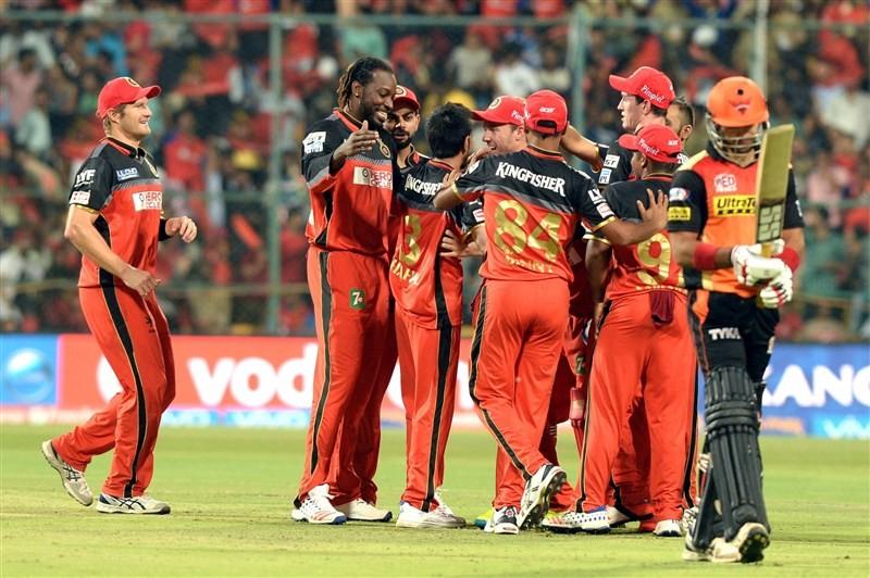 Royal Challengers Bangalore,RCB,Royal Challengers defeat Sunrisers by 45 runs,Royal Challengers defeat Sunrisers,Sunrisers Hyderabad,Shane Watson,Yuzvendra Chahal,IPL,IPL 2016,Indian Premier League,Indian Premier League 2016