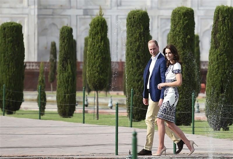 Royal Couple,William and Kate visits Taj Mahal,William and Kate,Prince William and Kate,Prince William and Kate Middleton,Prince William,Kate Middleton