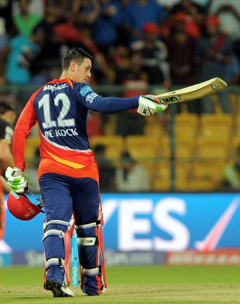 Delhi Daredevils beat Royal Challengers Bangalore by 7 wickets,Delhi Daredevils beat Royal Challengers Bangalore,Delhi Daredevils,Royal Challengers Bangalore,Quinton De Kock,Indian Premier League,Indian Premier League 2016,Indian Premier League 9,IPL 2016
