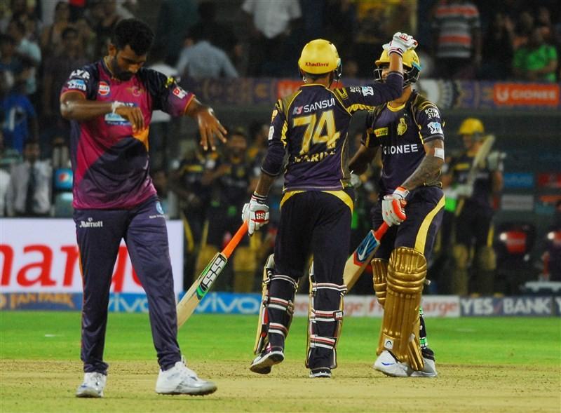 Kolkata Knight Riders beat Rising Pune Supergiants,Kolkata Knight Riders,Rising Pune Supergiants,Suryakumar Yadav,Indian Premier League,Indian Premier League 2016,Indian Premier League 9,IPL 2016,IPL 9,IPL pics,IPL images,IPL photos,IPL stills