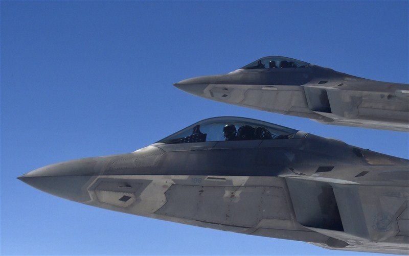 America's Top Guns,Top Guns,U.S. military pilots,U.S. Top Guns,U.S. F-22,Raptor fighters,U.S. F-22 Raptor fighter,Raptor fighter