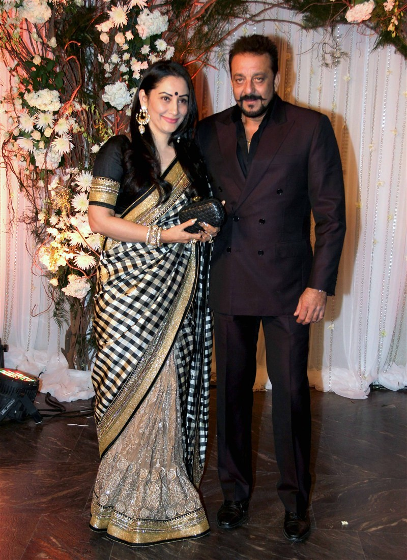 It was a starry affair at Bipasha Basu and Karan Singh Grover's wedding reception here, which saw the who's who of tinsel town gracing the event. The reception was attended by Bollywood A-listers like Amitabh Bachchan, Shah Rukh Khan and Salman Khan.