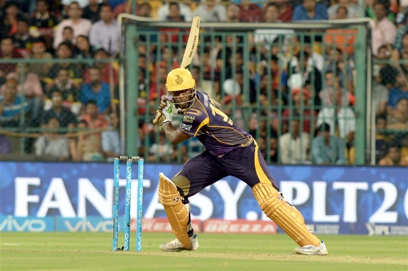 Kolkata Knight Riders beat Royal Challengers Bangalore by 5 wickets,Kolkata Knight Riders beat Royal Challengers Bangalore,Kolkata Knight Riders vs Royal Challengers Bangalore,Kolkata Knight Riders,Royal Challengers Bangalore,Yusuf Pathan,Andre Russell
